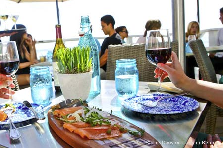 Dining Room at The Deck on Laguna Beach, Laguna Beach, CA