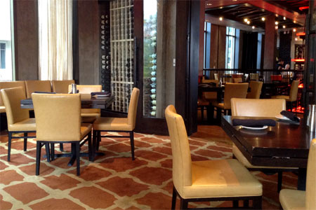 Dining Room at Del Frisco