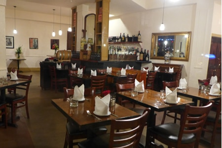Dining room at Caffe Delle Stelle, San Francisco, CA