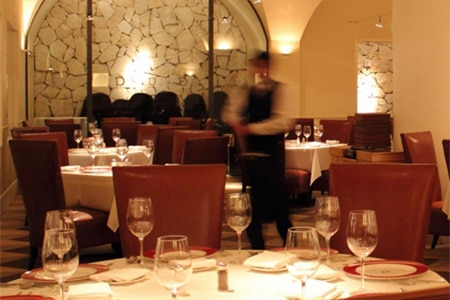 Dining Room at Delmonico Steakhouse, Las Vegas, NV