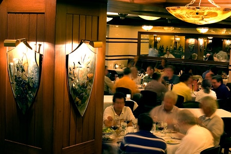 Dining Room at Dickie Brennan's Steakhouse, New Orleans, LA