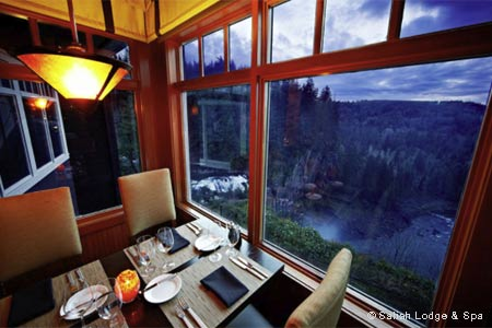 The Dining Room at Salish Lodge & Spa , Snoqualmie, WA