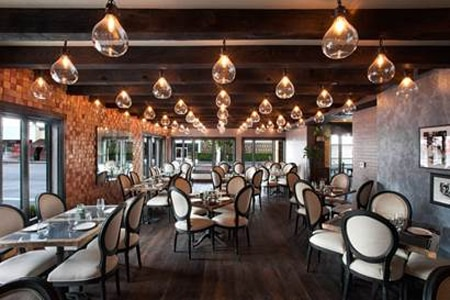 Dining Room at The District by Hannah An, Los Angeles, CA