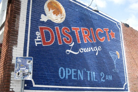 The District Lounge, Orange, CA