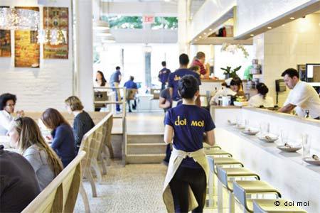 Enjoy some of Washington, DC's best Thai food at doi moi Restaurant