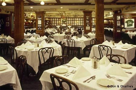 Dining Room at Don & Charlie