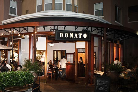 Dining Room at Donato Enoteca, Redwood City, CA
