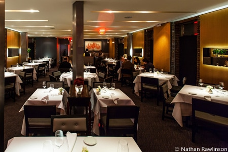 Dining Room at Dovetail, New York, NY