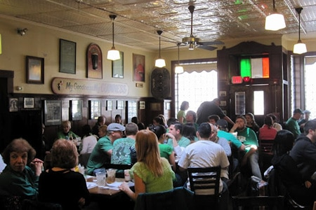 Doyle's Cafe is one of the best places to celebrate St. Patrick's Day in Boston