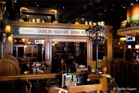 Dining Room at Dublin Square Irish Pub & Grill, San Diego, CA