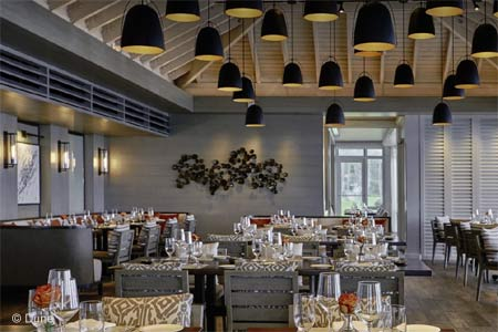 Chef Jean-Georges Vongerichten's culinary empire stretches around the world, including Dune restaurant in The Bahamas