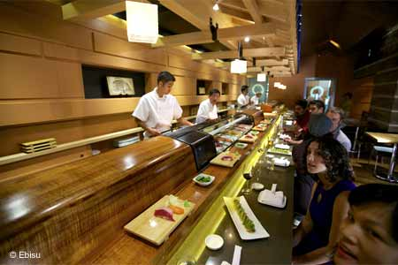 This longtime favorite with sushi connoisseurs is no secret, and the no-reservations policy often means a long, long wait.