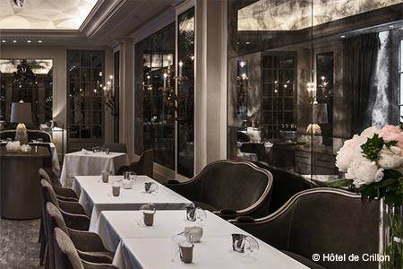 L'Ecrin has opened in the Hôtel de Crillon