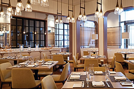 Dining room at Edge Steak & Bar, Miami, FL