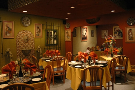 Dining room at Eduardo de San Angel, Fort Lauderdale, FL