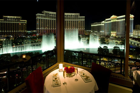 Dining Room at Eiffel Tower, Las Vegas, NV