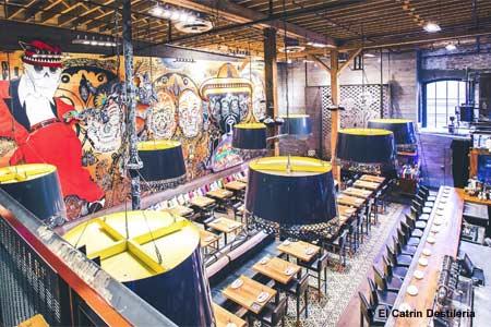 Dining Room at El Catrin Destileria, Toronto, ON