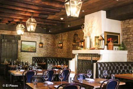 Dining Room at El Paseo, Mill Valley, CA