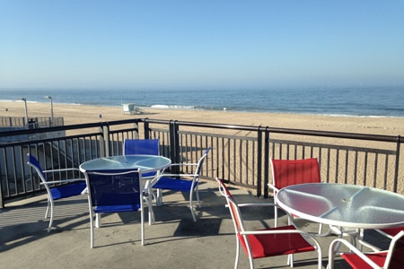 Dining Room at El Segundo Beach Cafe, Playa del Rey, CA