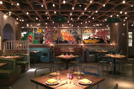 El Vez in New York features a kids' menu with items like mahi mahi bites and a chicken quesadilla