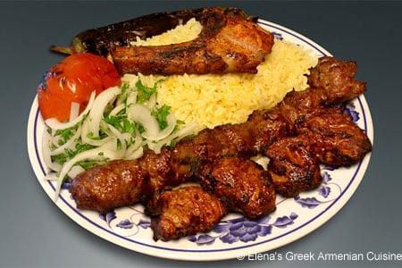 Elena's Greek Armenian Cuisine, Glendale, CA