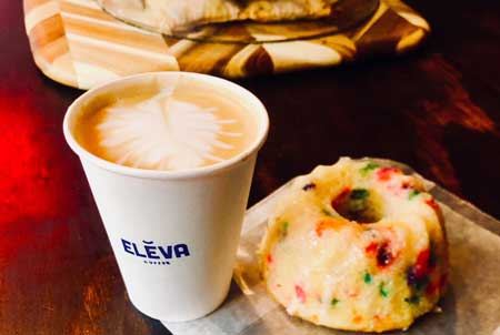 Eleva Coffee Bar, Brooklyn, NY