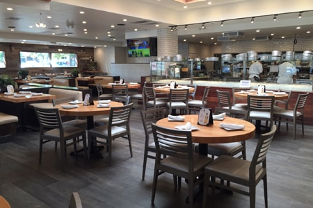 Dining Room at EMC Seafood & Raw Bar, Irvine, CA