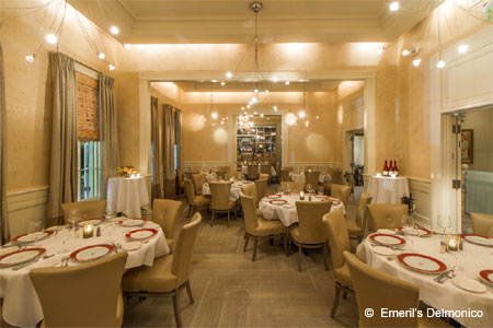 Emeril's Delmonico is one of the most romantic restaurants in New Orleans