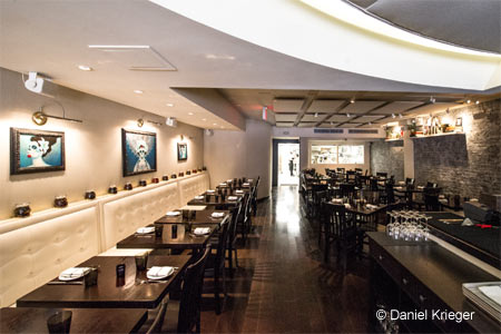 Dining room at Empellon Cocina, New York, NY