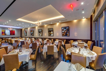 Dining Room at Empire Steak House, New York, NY