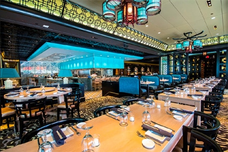 Enjoy sushi in a sexy space at Empire in Boston
