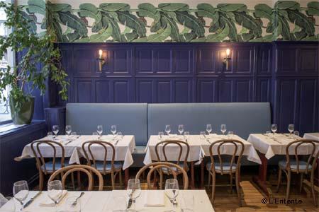 L'Entente, Le British Brasserie, Paris, france