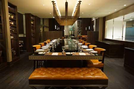 Dining Room at EST. Prime Steakhouse, San Gabriel, CA