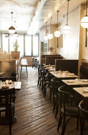 Dining room at Estela, New York, NY