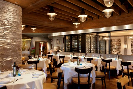 Dining Room at Estiatorio Milos, Las Vegas, NV