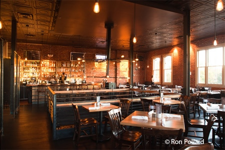 Dining room at Euclid Hall Bar & Kitchen, Denver, CO
