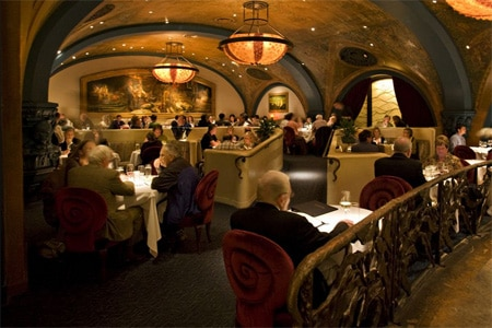Dining Room at Farallon, San Francisco, CA