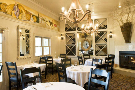 Dining Room at Farmhouse Inn Restaurant, Forestville, CA