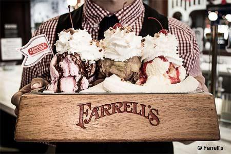 THIS RESTAURANT IS CLOSED Farrell's Ice Cream Parlour & Restaurant, Brea, CA