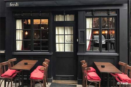 Ferdi is one of London's new restaurants. Find more on GAYOT's roundup.