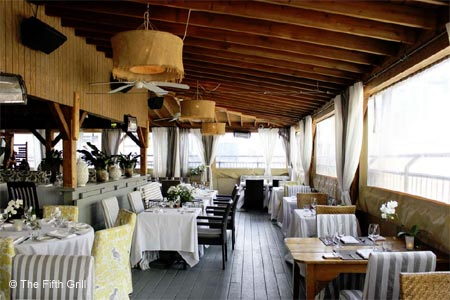 The Fifth Grill is one of GAYOT's Best Outdoor Dining Restaurants in Toronto