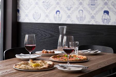 Fiorella's saucy Neapolitan pies rightly favor the garden