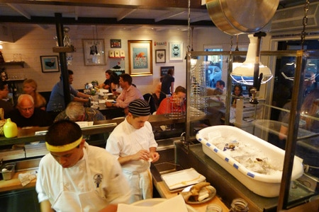 Dining Room at Fishing With Dynamite, Manhattan Beach, CA