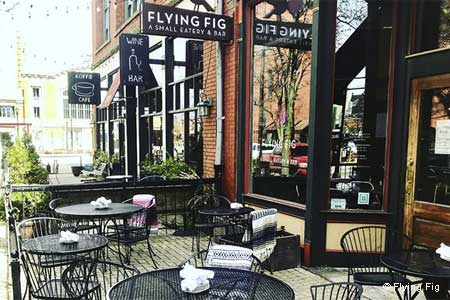 Dining Room at Flying Fig, Cleveland, OH