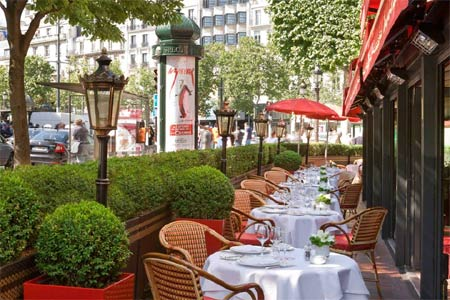 Fouquet's, Paris, france