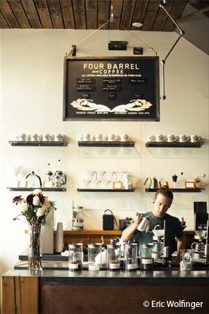 THIS RESTAURANT HAS CHANGED NAMES Four Barrel Coffee, San Francisco, CA