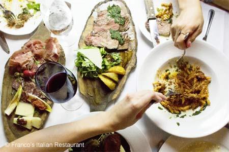 Franco's Italian Restaurant, Los Angeles, CA