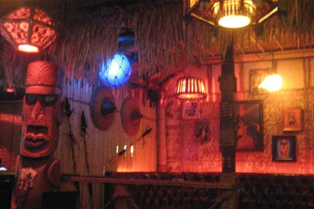 Dining room at Frankie's Tiki Room, Las Vegas, NV