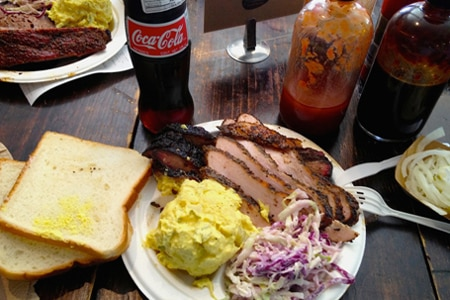 Franklin Barbecue is one of the best bbq restaurants in Austin
