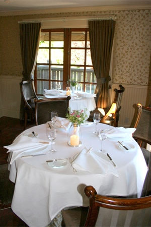 Dining room at The French Laundry, Yountville, CA